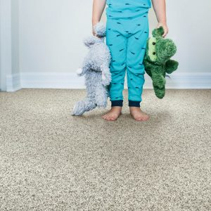 Kid on grey Carpet | Thornton Flooring