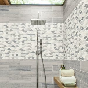 Bathroom Tile wall | Thornton Flooring