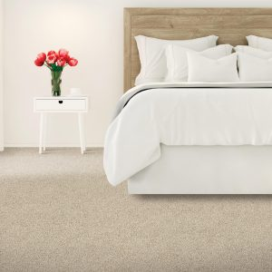 Carpet flooring of bedroom | Thornton Flooring