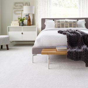 White interior of bedroom | Thornton Flooring