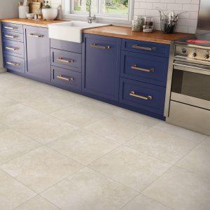 Blue cabinets | Thornton Flooring