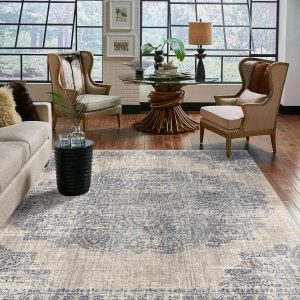 Area Rug in living room | Thornton Flooring