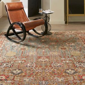 Armchair on Area Rug | Thornton Flooring