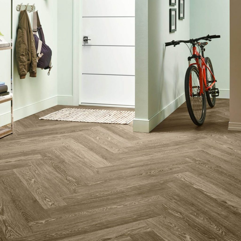 Bicycle on flooring | Thornton Flooring