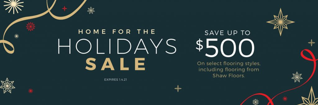 Home For the holiday sale | Thornton Flooring