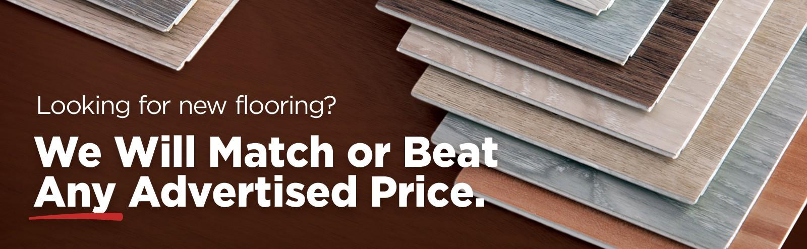 Price Match Guarantee | Thornton Flooring